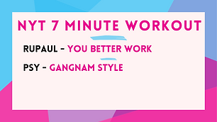 RuPaul - You Better Work ; Psy - Gangnam Style