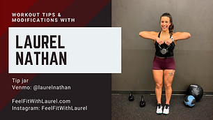 Laurel Nathan - FeelFitWithLaurel.com