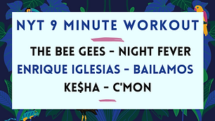 The Bee Gees - Night Fever / Enrique Iglesias - Bailamos / Ke$ha - C'Mon