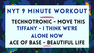Technotronic - Move This / Tiffany - I Think We're Alone Now / Ace of Base - Beautiful Life