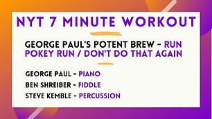 George Paul's Potent Brew - Run Pokey Run / Don't Do That Again