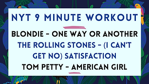 Blondie - One Way Or Another / The Rolling Stones - (I Can't Get No) Satisfaction / Tom Petty - American Girl