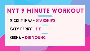 Nicki Minaj - Starships; Katy Perry - E.T.; Ke$ha - Die Young