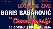 Koncert Borisa Barbarovića ex Crvenih Koralja u suradnji s Hrvatskim Broadway-om