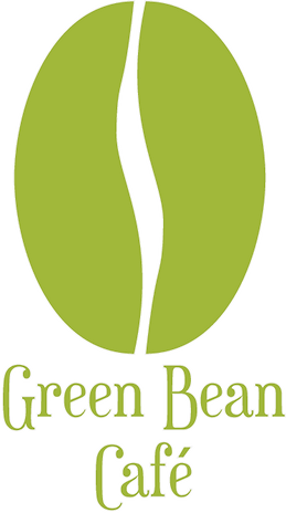 Logotype monochrome café branché