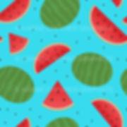 seamless pattern watermelon melon d'eau illustration vector vectorielle karine chevrier graphiste