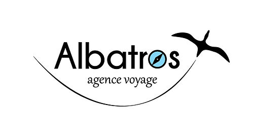 logo voyage agence agency travel albatros bird kaz design photoshop illustrator