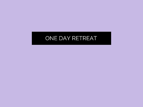 One day retreat - Flowing into your feminine creation power