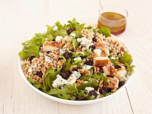 Cherry Walnut Crunch Salad