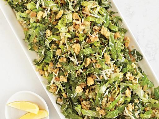 Caesar Crumbles Salad