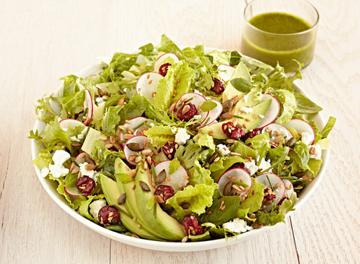 Cranberry Power Crunch Salad