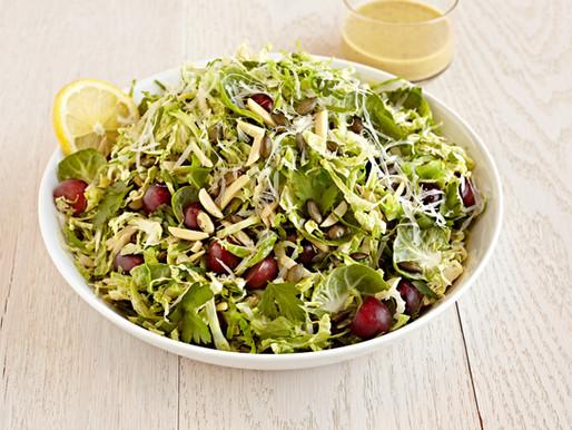 Almond Pepita Brussels Salad