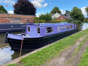 The Purple Boat ready to go!