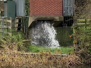 Shardlow Pumping Station - maintaining canal water levels in times of flood