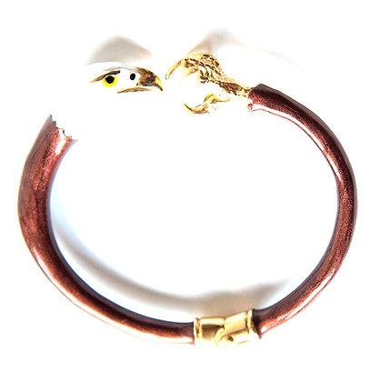 Petite eagle bracelet