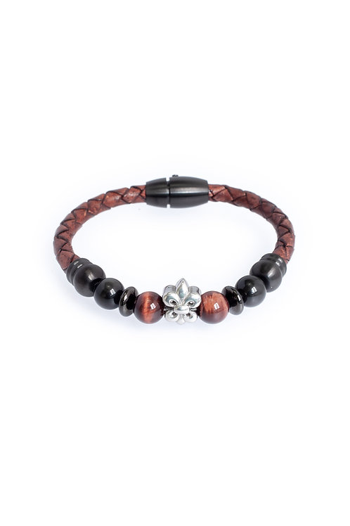 Odin in 5mm Distressed Brown Leather