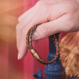 Latch Handmade Leather Bracelet