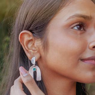 Leather Earrings