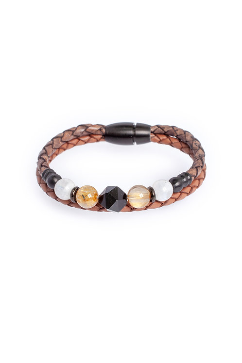 Courage in 4mm Duo Leather