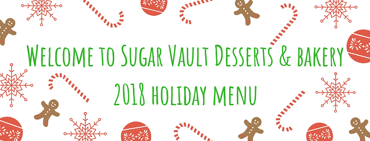 Welcome to Sugar Vault Desserts & bakery