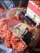 Neapolitan Cheesecake Cake