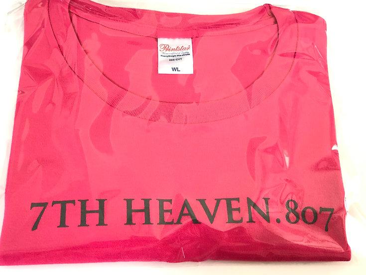 オリジナル Tシャツ 7TH HEAVEN.807(ホットピンク)レディースL