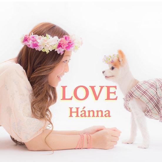 LOVE フルアルバム CD  DVD MV Hánna