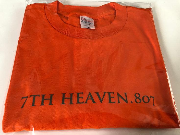 オリジナル Tシャツ 7TH HEAVEN.807(オレンジ)XL