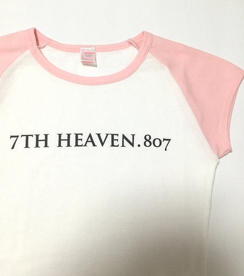 ラグランTシャツ ピンク
