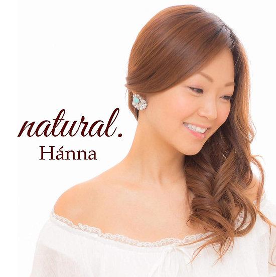 natural. Hánna シングル CD ステッカー