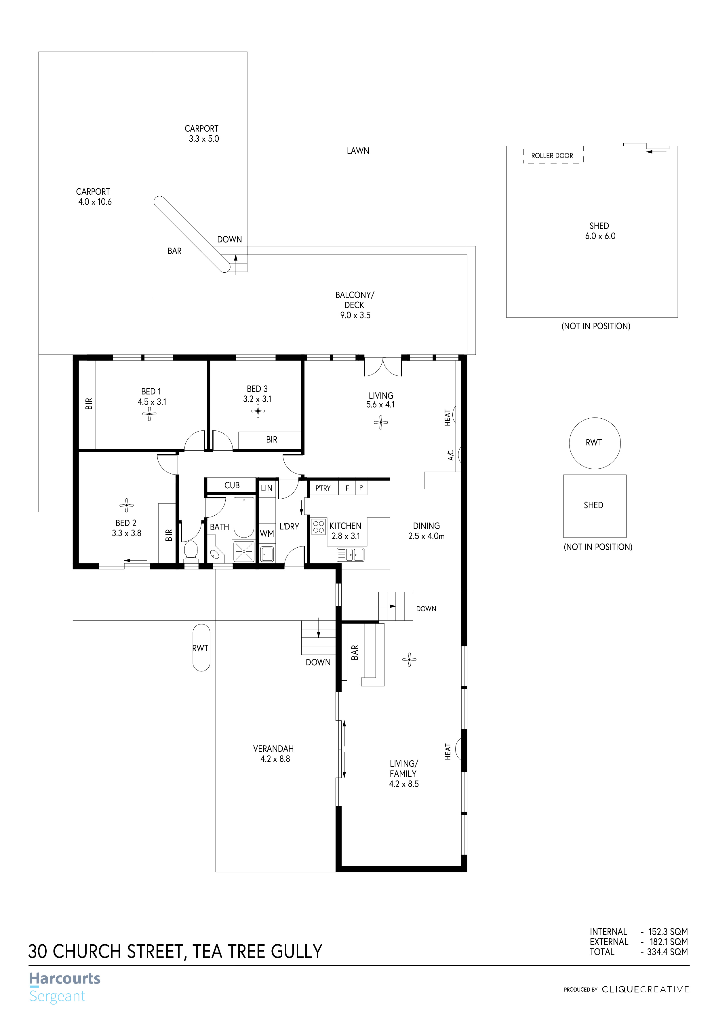 Floorplan - 30 Church Street, Tea Tree G