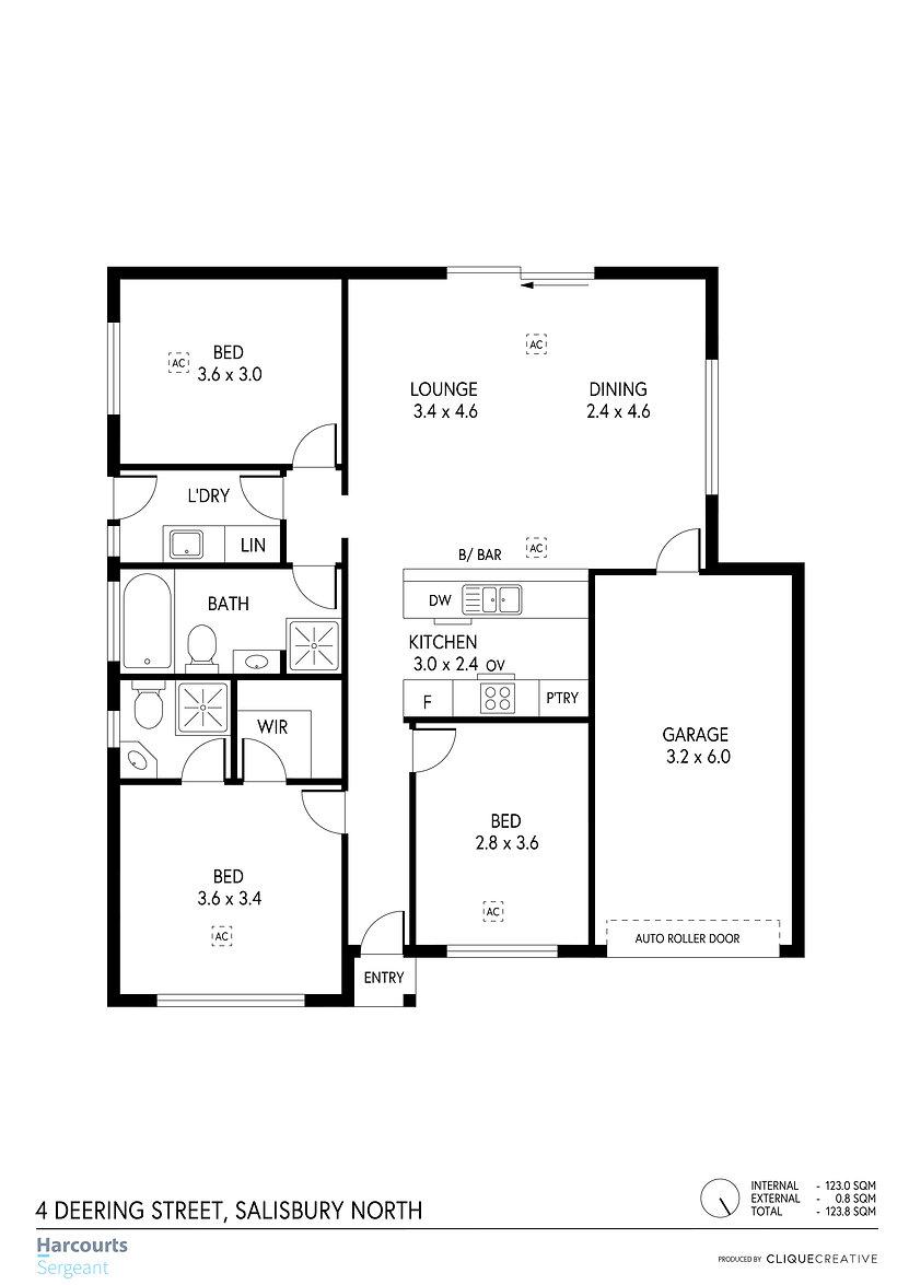 Floorplan - 4 Deering Street, Salisbury
