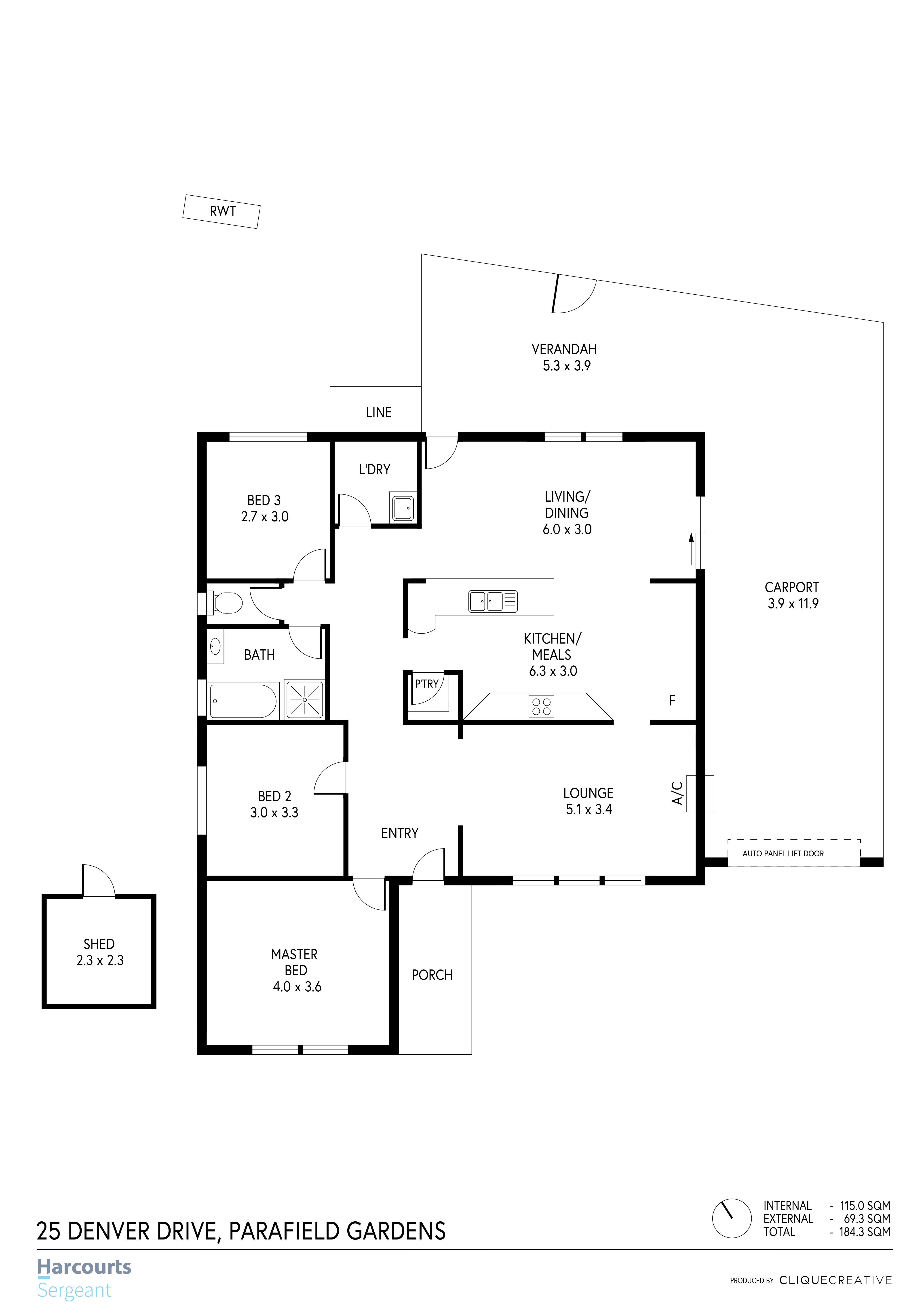 Floorplan - 25 Denver Drive, Parafield G