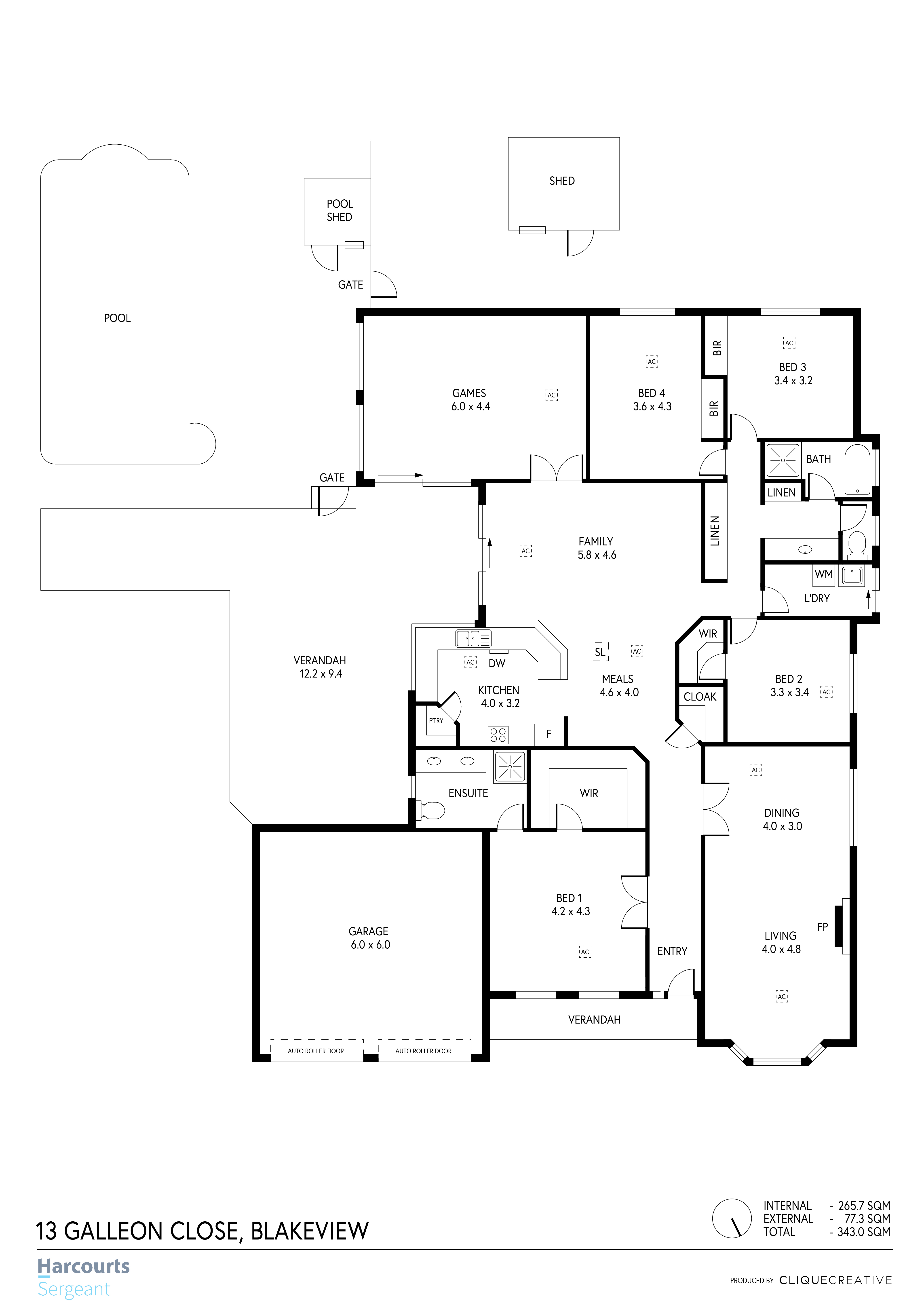 Floorplan - 13 Galleon Close, Blakeview
