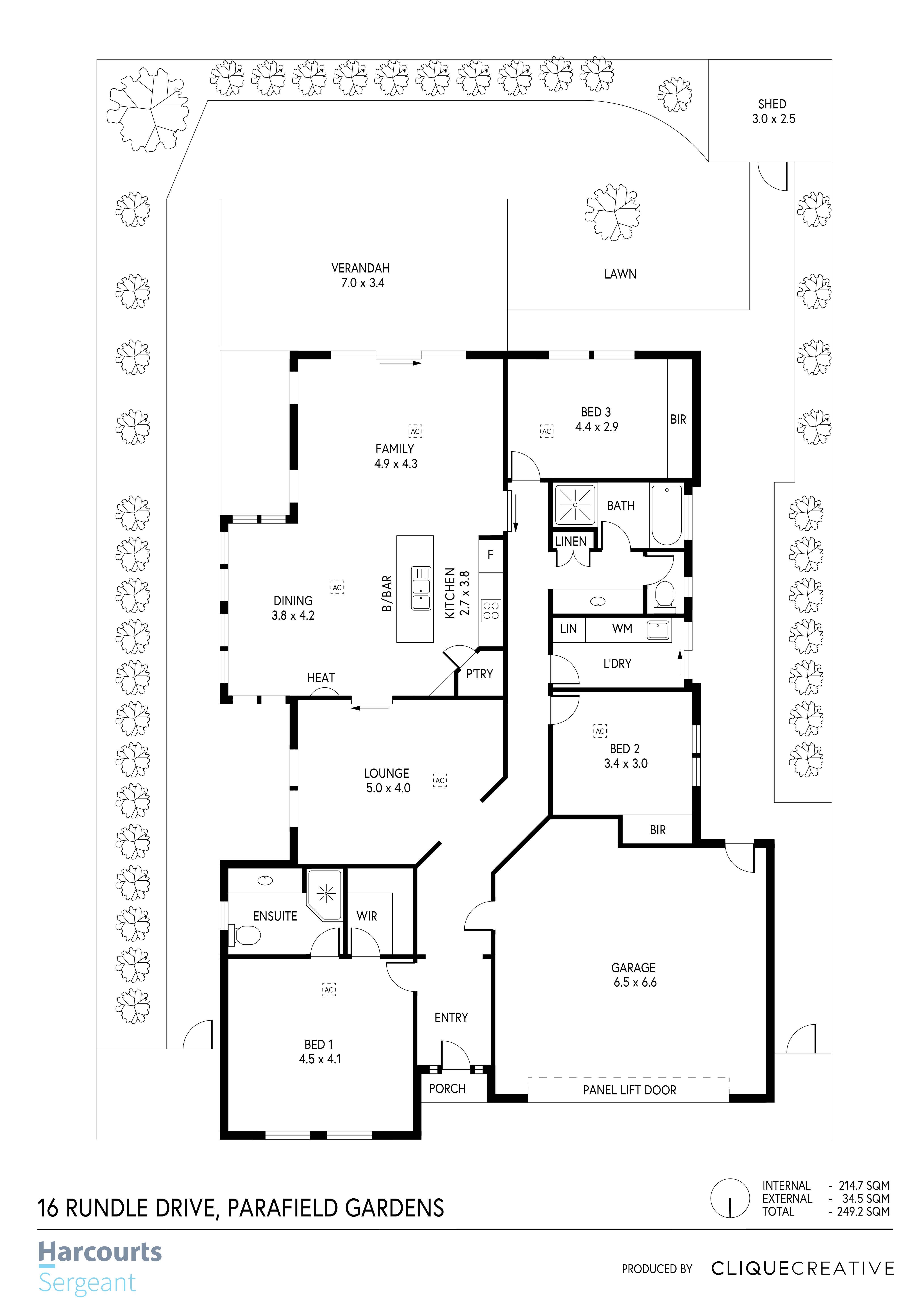 Floorplan - 16 Rundle Drive, Parafield G