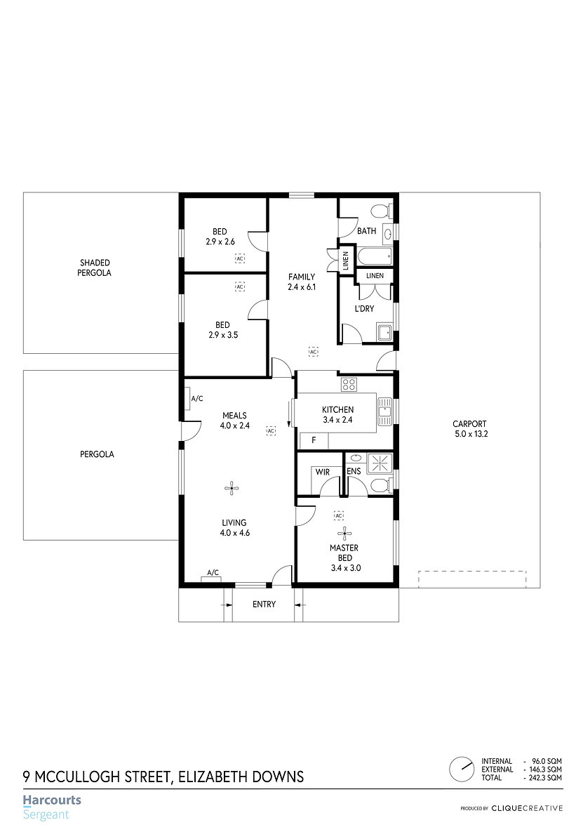 Floorplan - 9 McCulloch Street, Elizabet