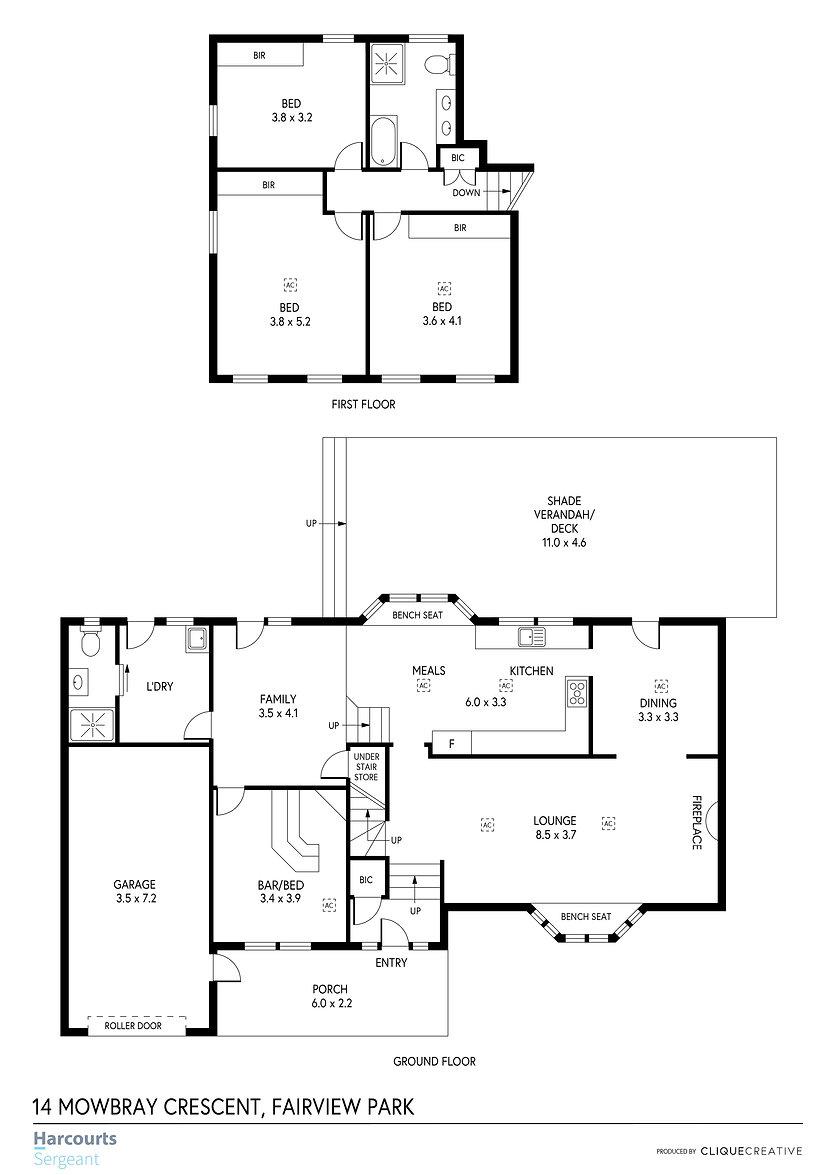 Floorplan - 14 Mowbray Crescent, Fairvie