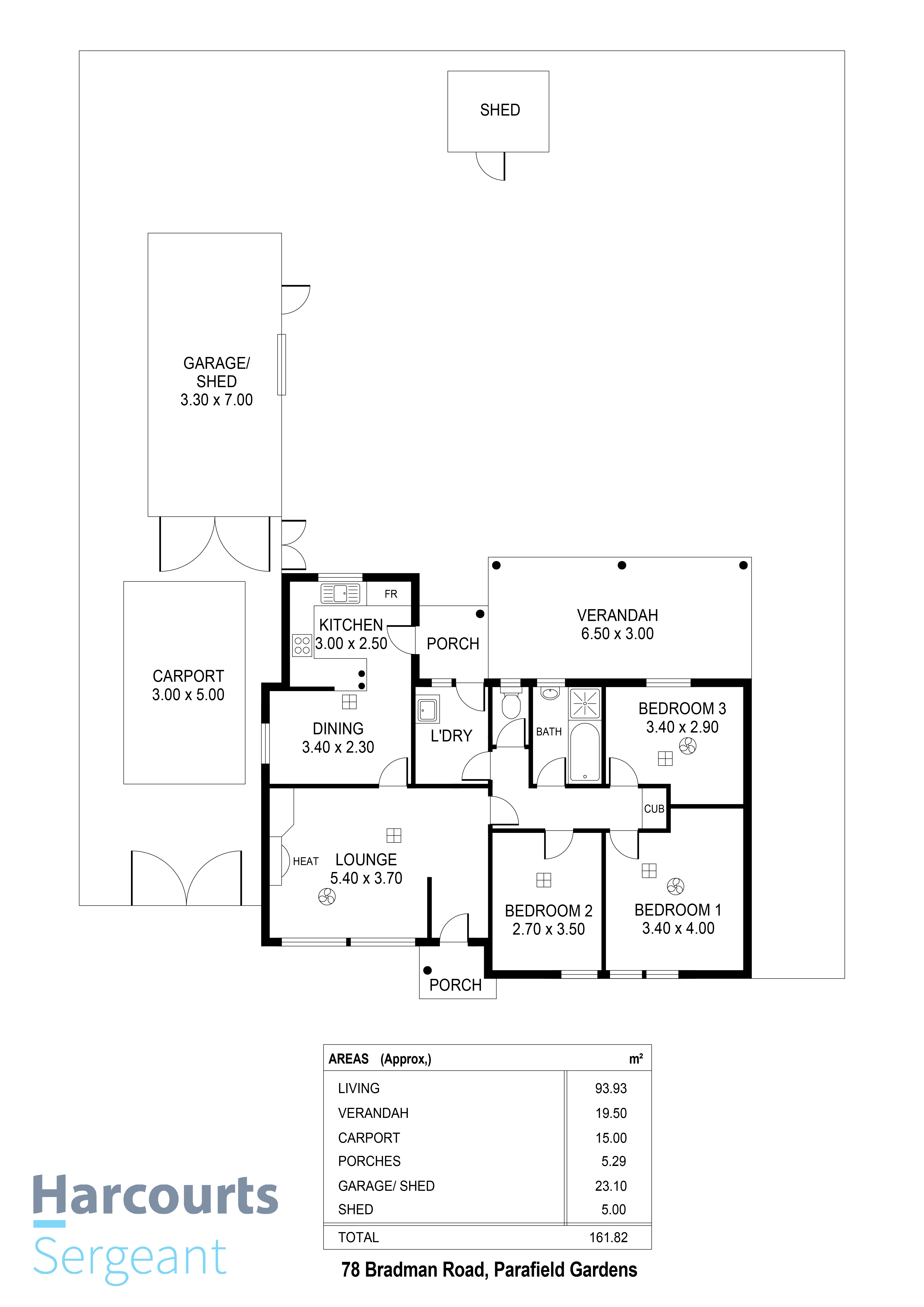 Floorplan - 78 Bradman Road, Parafield G