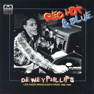 CD - Dewey Phillips - Red Hot & Blue