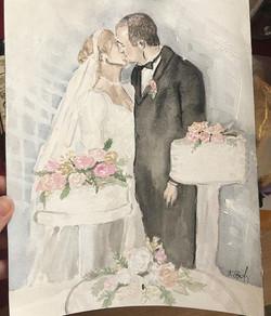 Anniversary Gift, Custom Painting