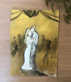 First Dance Custom Painting