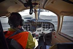 Passenger flight Engadin