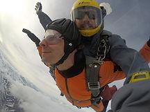 Tandem Skydive Engadin