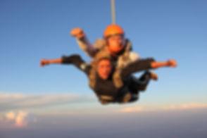 Fallschirm Tandemsprung Freifall