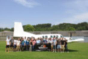 Fallschirm Tandemspung Gruppenevent