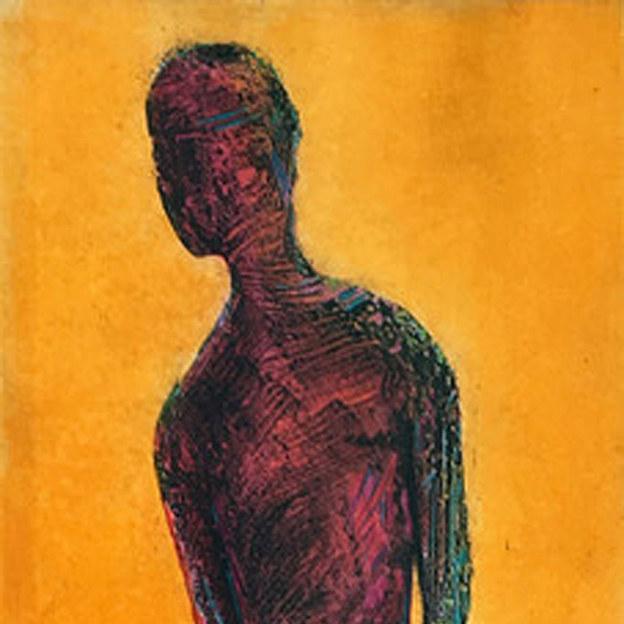 Figure on Orange