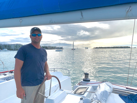 Our Island Adventures, a Long Passage