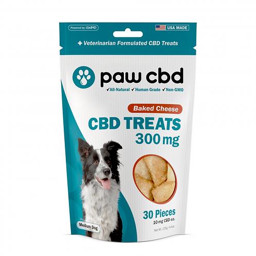 Pet Treats - 300 mg - Sweet Potato, Baked Cheese, or Peanut Butter