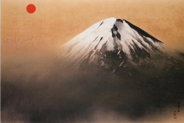 横山大観『神国日本』