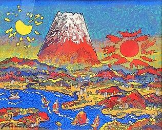 洋画家、日本芸術院会員、文化功労者      現代アフレスコ画の第一人者であるばかりか、日本洋画界を担う作家として活躍している。豊かで自由なイマジネーション、極度の精神集中と持続力から生み出される絵画世界には、鮮烈な色彩が奔流し、熱情と生の歓喜がダイナミックに展開する。大胆で自由奔放なフォルムからなる作品は、観る人に深い共感と関心を呼び起こす。スチロフォームとミクストメディアによる立体作品、さらには石彫や絹本岩彩にも取り組んでいる。  日本芸術院会員、独立美術協会会員、東京藝術大学教授を歴任。